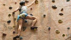 户外拓展训练项目之——竞技攀岩