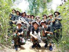 香华实验学校2010级4班拓展训
